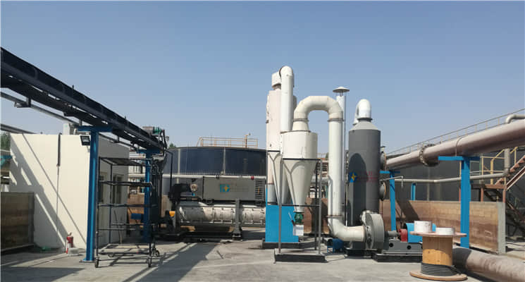 Taida Sludge Dryer Solve Pollution Problem for Bahr