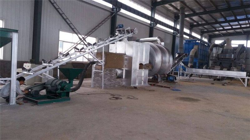 triple pass/three drum dryer