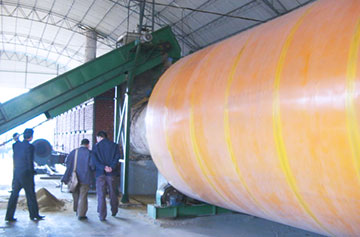 Triple Pass Drum Dryer