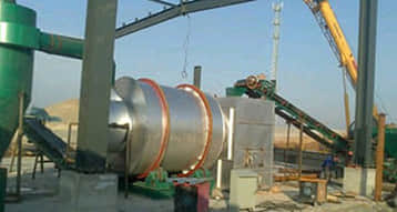 Zhengzhou Dry Mix S62 Triple Pass Dryer Production