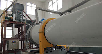 Changyuan 150TPD Sludge Alkaline Drying Production