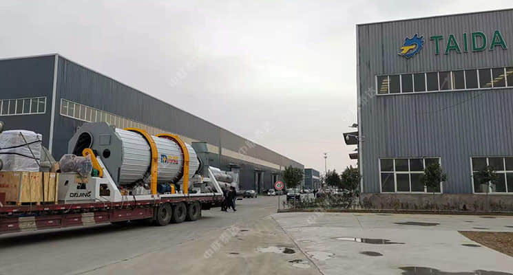 E-style 7th Model Dryer Delivered to Tianjian For M
