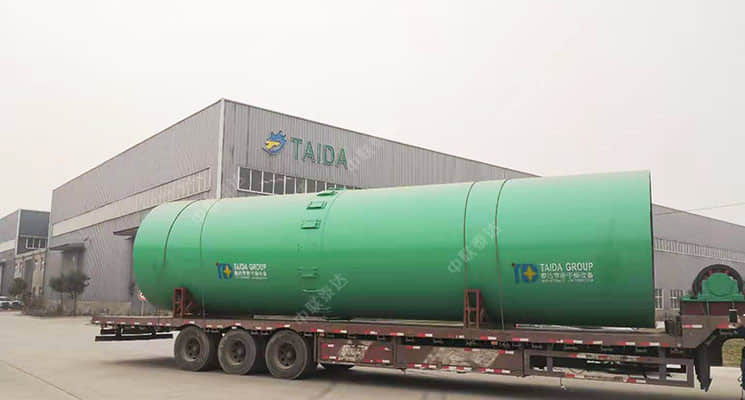 1000T Capacity Coal Slurry Dryer Delivered to Shang