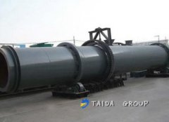 Iron ore pellets dryer