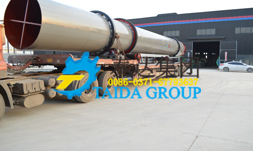 coal slurry dryer delivery