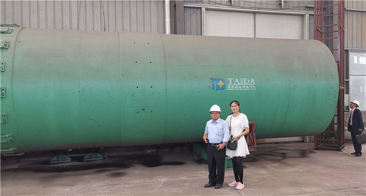 Korean Customer Came Taida Again for Coal Slurry Dr